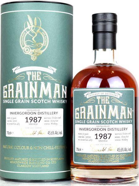 Invergordon 30 Jahre 1987/2018 Sherry Cask The Grainman 45,6% vol.