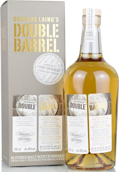 Orkney & Speyside Double Barrel Douglas Laing 46% vol.