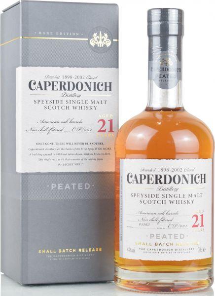 Caperdonich 21 Jahre Peated Small Batch CP/001 48% vol.