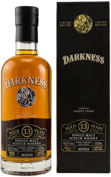 Inchfad 13 Jahre PX Sherry Finish Darkness! 49,9% vol.
