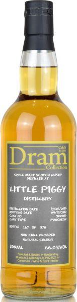 Little Piggy 7 Jahre 2010/2017 Sherry Cask C&S Dram Collection #900080 66,0% vol.