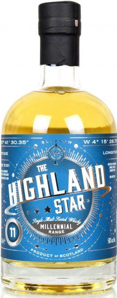 Highland Star 11 Jahre 2007/2018 Sherry Cask North Star Spirits Millennial Range