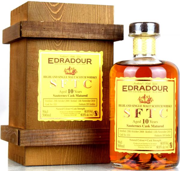 Edradour 10 Jahre 2008/2018 Sauternes Cask Straight from the Cask #333