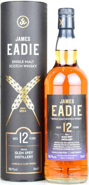 Glen Spey 12 Jahre 2007/2020 1st Fill Marsala James Eadie 59,7% vol.