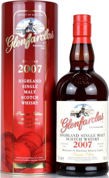 Glenfarclas 2007/2018 Premium Edition Oloroso Sherry Casks