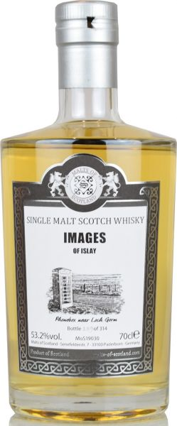 Images of Islay Phonebox at Loch Gorm Malts of Scotland 53,2% vol.