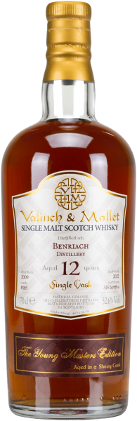 Benriach 12 Jahre 2009/2021 Sherry Cask Valinch & Mallet 52,6% vol.