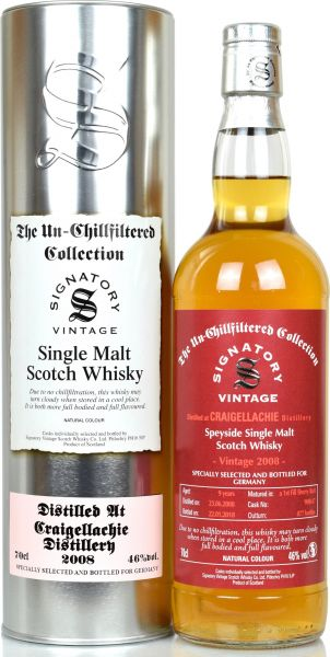 Craigellachie 2008/2018 1st Fill Sherry Butt SV Un-Chillfiltered Collection #900617