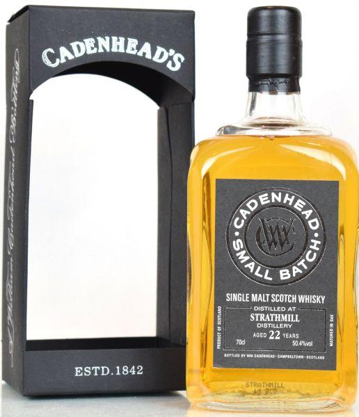 Strathmill 22 Jahre 1992/2014 Cadenhead's 50,4% vol.