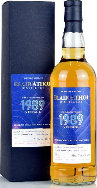 Blair Athol 31 Jahre 1989/2020 Spheric Spirits 52,4% vol.