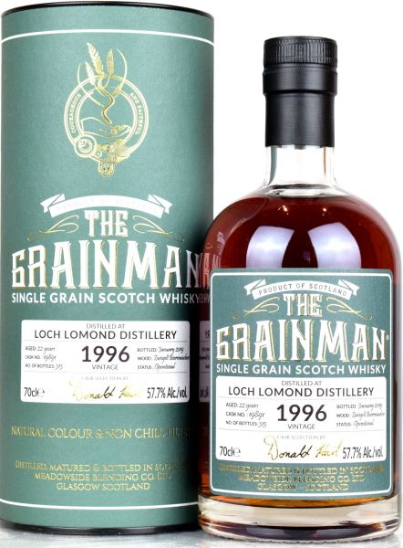 Loch Lomond 22 Jahre 1996/2019 Zweigelt Beerenauslese Finish The Grainman 57,7% vol.