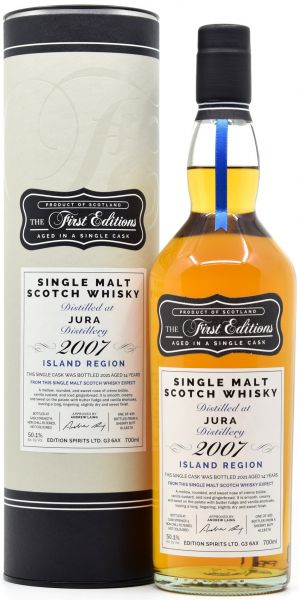 Jura 14 Jahre 2007/2021 Sherry Cask First Editions 50,1% vol.