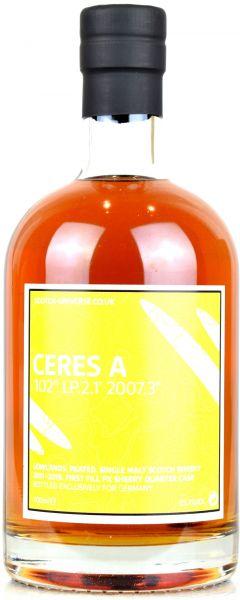 Ceres A 8 Jahre 2011/2019 1st Fill PX Sherry Scotch Universe 55,7% vol.