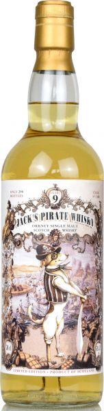 Jack's Pirate 9 Jahre Orkney Malt Überfahrt nach Sachsen Part I Jack Wiebers 59,5% vol.