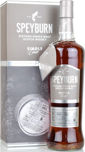 Speyburn 13 Jahre 2004/2017 Sherry Single Cask #214 52,5% vol.