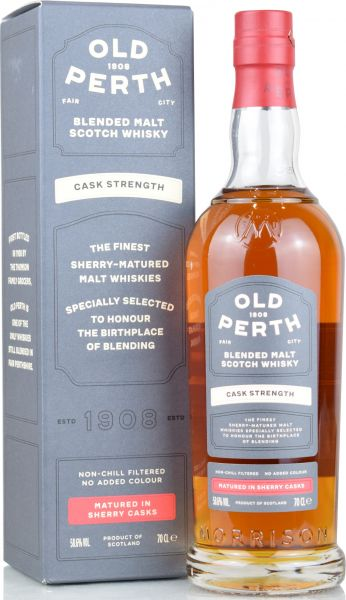 Old Perth Cask Strength Blended Malt Sherry Casks 58,6% vol.