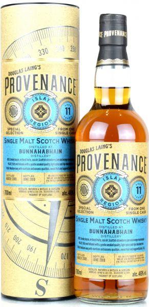 Bunnahabhain 11 Jahre 2008/2019 Sherry Butt Provenance Douglas Laing 46% vol.