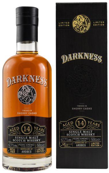 Ardbeg 14 Jahre PX Sherry Finish Darkness! 47,7% vol.