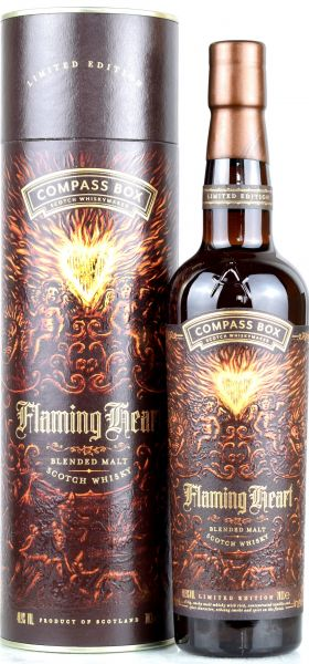 Flaming Heart Compass Box 48,9% vol.