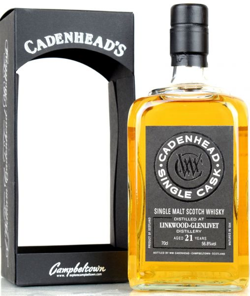 Linkwood 21 Jahre 1997/2018 Cadenhead's for Japan 56,8% vol.