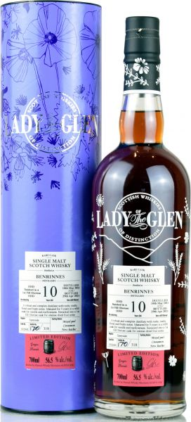 Benrinnes 10 Jahre 2011/2021 Sherry Cask Lady of the Glen 56,5% vol.