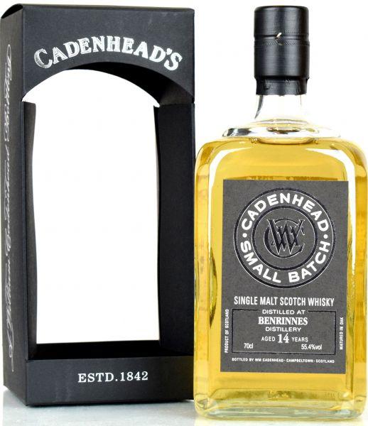 Benrinnes 14 Jahre 2004/2018 Cadenhead 55,4% vol.