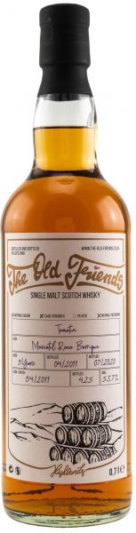 Tomatin 9 Jahre 2011/2020 Moscatel Roxo Cask The Old Friends 53,7% vol.