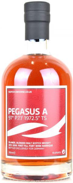 Pegasus A 8 Jahre 2011/2019 1st Fill Port Wine Barrique Scotch Universe 55,8% vol.