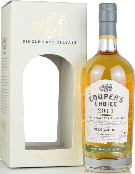 Glen Garioch 8 Jahre 2011/2019 Madeira Cask Cooper's Choice 53,5% vol.