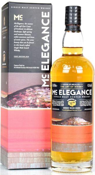 Mc Elegance Sherry Finish House of McCallum 43,5% vol.