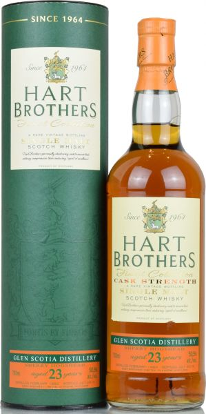 Glen Scotia 23 Jahre 1992/2015 Sherry Cask Hart Brothers 50,5% vol.