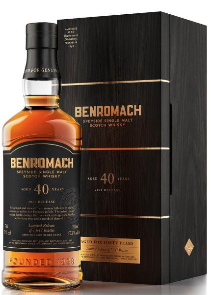 Benromach 40 Jahre 57,1% vol.