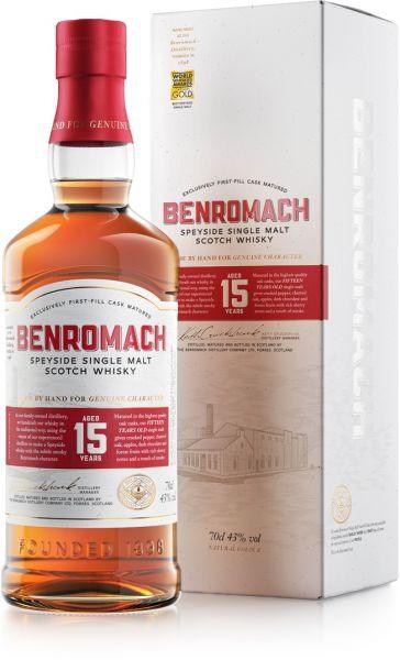 Benromach 15 Jahre Neues Design