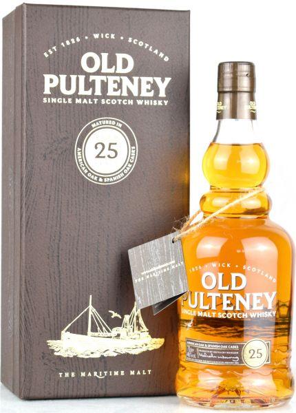 Old Pulteney 25 Jahre