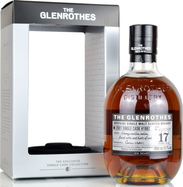 Glenrothes 17 Jahre 2001/2019 1st Fill Sherry Single Cask #1982 59,2% vol.