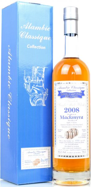 Mackmyra 9 Jahre 2008/2017 Port Wine Cask Alambic Classique