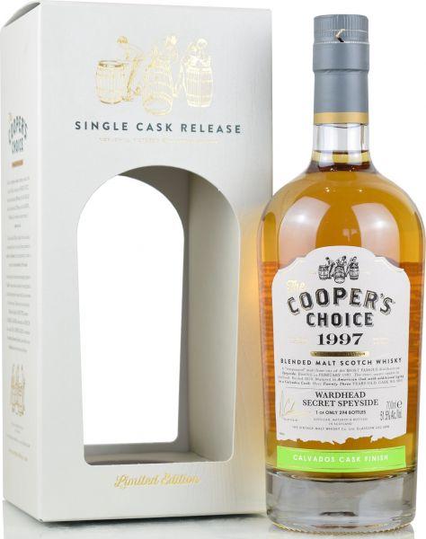 Wardhead 23 Jahre 1997/2020 Calvados Cask Cooper's Choice 51,5% vol.