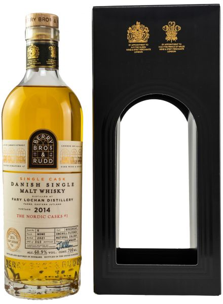 Fary Lochan 7 Jahre 2014/2021 Berry Bros and Rudd The Nordic Casks 60,9% vol.
