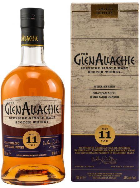 Glenallachie 11 Jahre Grattamacco Wine Cask 48,0% vol.