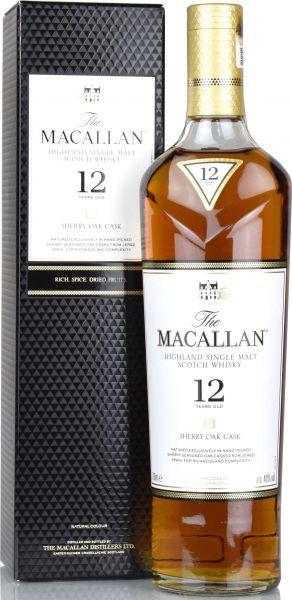 Macallan 12 Jahre Sherry Oak