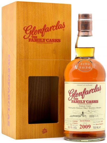 Glenfarclas 2009/2021 Family Casks Exclusive for Germany #1832 60,1% vol.