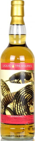 Speyside Region 26 Jahre 1992/2018 Liquid Treasures Snakes 51,6% vol.