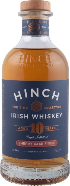 Hinch 10 Jahre Sherry Finish 43% vol.