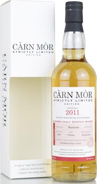 Burnside 8 Jahre 2011/2020 Carn Mor Strictly Limited 47,5% vol.
