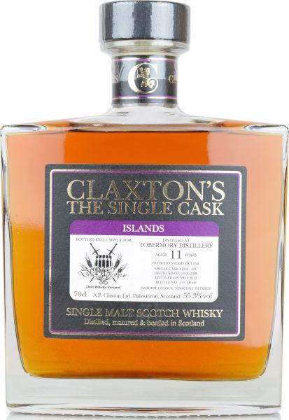 Tobermory 11 Jahre 2008/2019 Oloroso Sherry Claxton's for deinwhisky.de 55,3% vol.