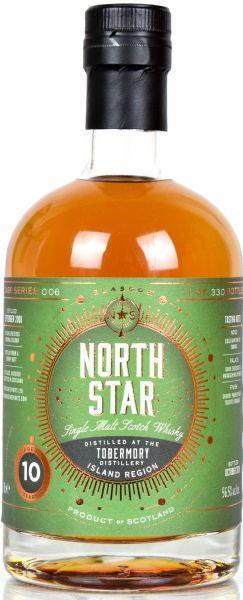 Tobermory 10 Jahre 2008/2018 Sherry Butt North Star Spirits #006 56,5% vol.