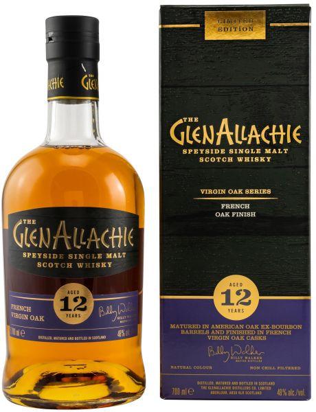 Glenallachie 12 Jahre French Oak Finish Virgin Oak Series 48% vol.