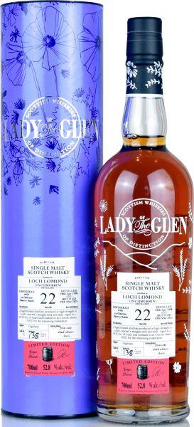 Inchmurrin (Loch Lomond) 22 Jahre 1998/2021 Sherry Cask Lady of the Glen 52,8% vol.