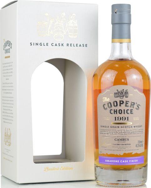 Cambus 29 Jahre 1991/2020 Amarone Cask Cooper's Choice 46,2% vol.