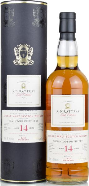 Tomintoul 14 Jahre 2005/2020 Sherry Cask A.D. Rattray 57,9% vol.